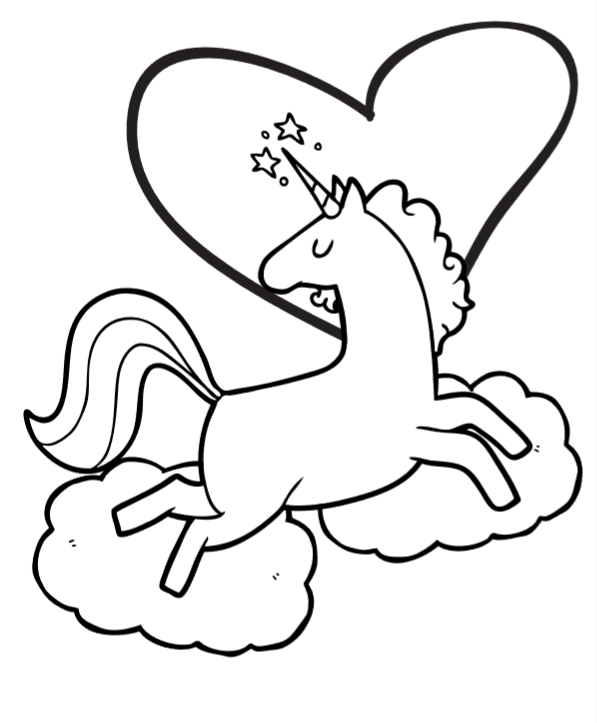 - Free Unicorn Coloring Book Pages: So Cute! ⋆ Fun Thrifty Mom