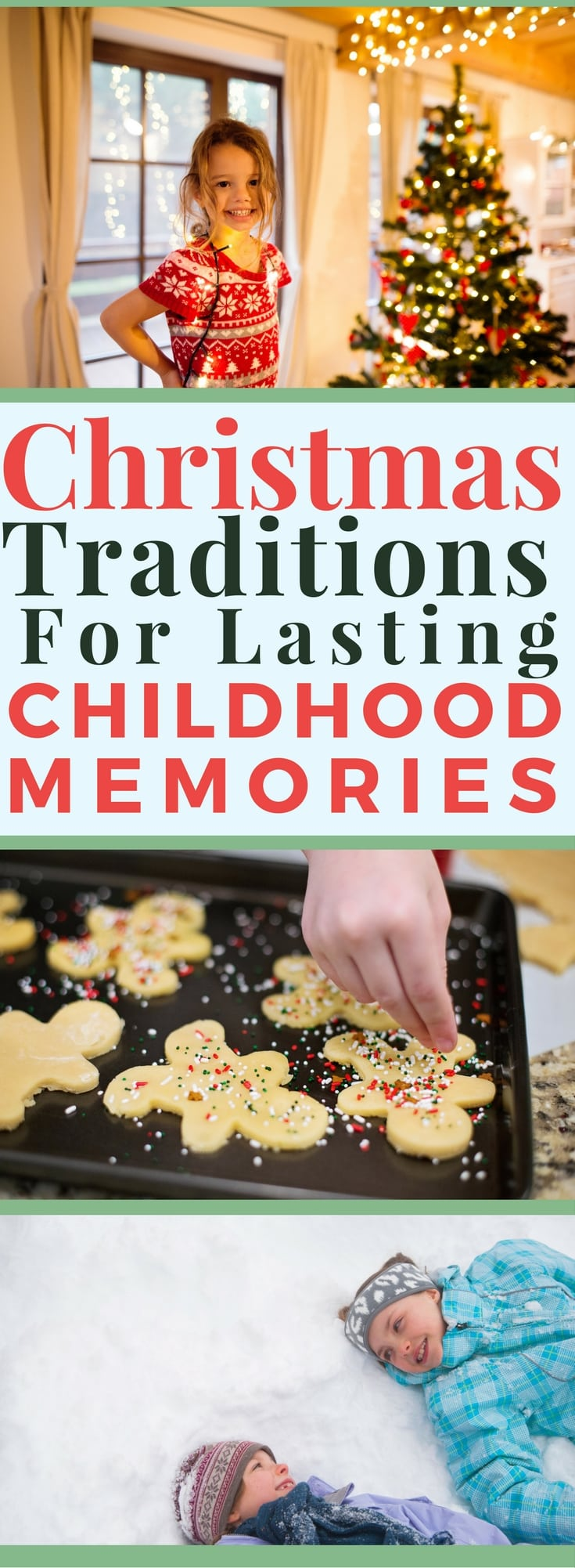 Creating Christmas traditions is one of the best ways to create lasting childhood memories for your kids. The Christmas lights, music, family togetherness and general spirit often brings much more joy than any gifts exchanged. Decorating mini-tree.