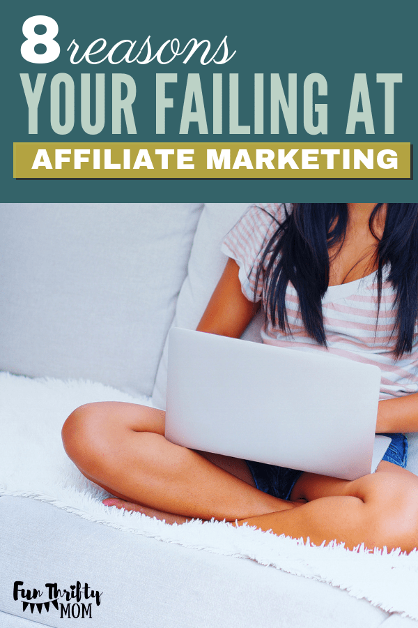 Why you are not making money at affiliate marketing.