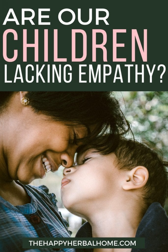 Are our children lacking empathy. One study shows some concerning results.