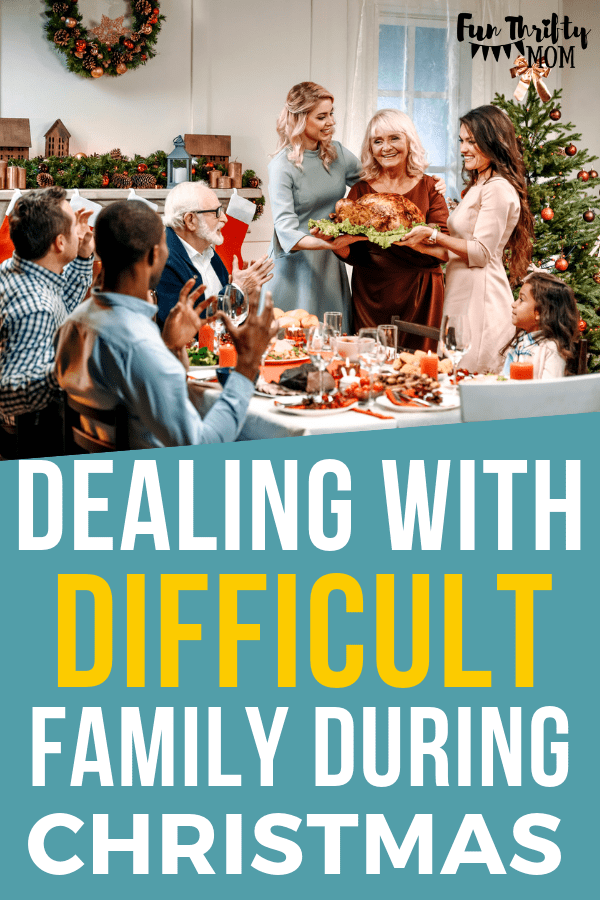 Dealing with difficult family during christmas can be down right miserable. Here are great tips on enjoying your family and handling the holidays with grace and ease.