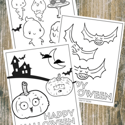 Cute & Free Halloween Coloring Pages