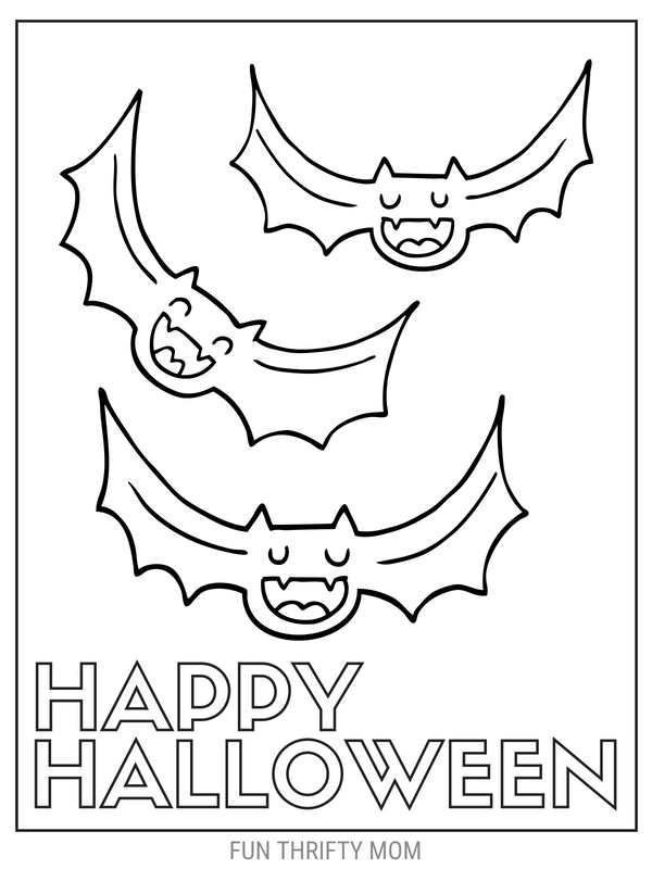 - Cute & Free Halloween Coloring Pages ⋆ Fun Thrifty Mom