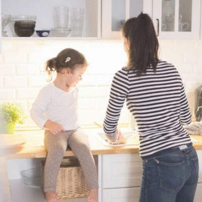 """How """"Family Clean Time"""" Saved my Sanity as a Mom"""