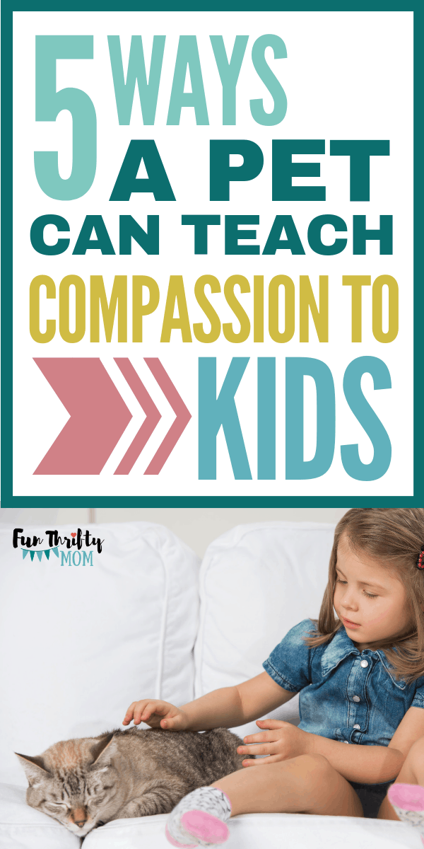 Ways a pet can teach compassion and empathy to children. Great tips on raising kids and parenting.