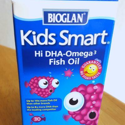 Kids Smart High DHA Fish Oil Chewable Burstlet Review