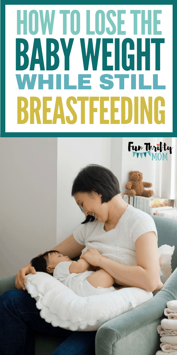 How to lose the baby weight, while breastfeeding. What to do to burn the fat without losing your milk supply!
