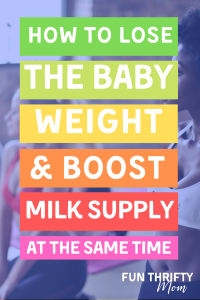 How to lose weight and increase your milk supply
