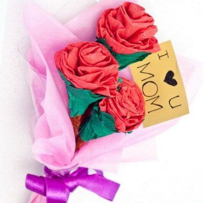 Cute Paper Flower Bouquet