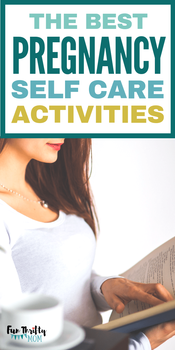 The best pregnancy self care activities. Things every expecting mom should do before baby comes, for herself!