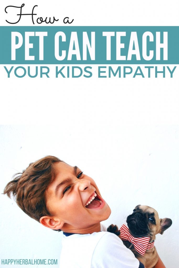 How a pet can teach your kids to have more empathy. Teaching your kids to understand emotions and feelings is a valueable social skill that will help them be happy adults.