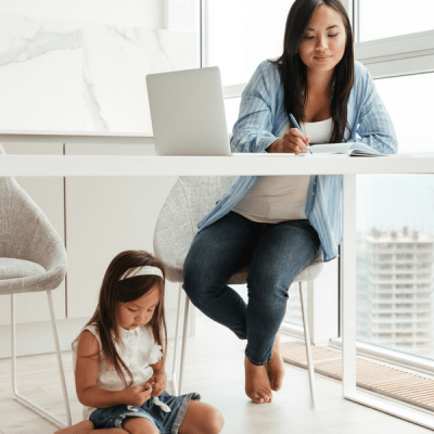 How you can afford to be a stay at home mom, by becoming a VA